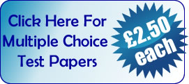 Click here for multiple choice papers